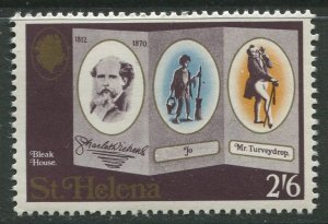 STAMP STATION PERTH St Helena #235 Charles Dickens 1970 MNH