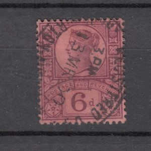 J27524 1887-92 great britain used #119 queen