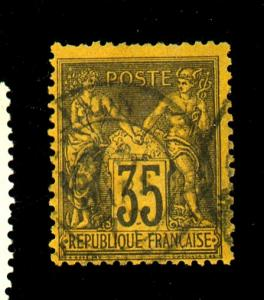 France #94 Used F-VF Cat $35