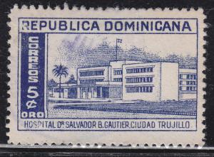 Dominican Republic 449 Dr. Salvador B. Gautier Hospital 1952