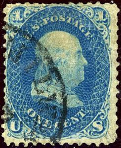 U.S. #63 Used VF