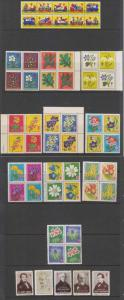 GERMANY 1959-80 CINDERELLA TBC FIGHT SEALS COLLECTION OF 50 ITEMS MNH+