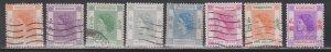 HONG KONG Scott # 185//196 Used - Queen Elizabeth II Definitives