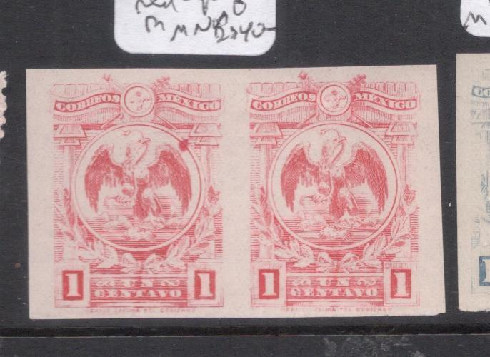 Mexico SC 576 in Red Imperf Pair MNH (8dns)