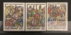Vatican City 1990, #858-60, MNH, CV $5.50