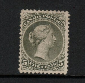Canada #26 Mint Fine - Very Fine Disturbed Original Gum LH **With Certificate**