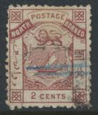 North Borneo  SG 1   Used perf 12 please see scans & details
