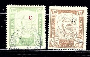 Paraguay L34-35 Used 1931-36 issues
