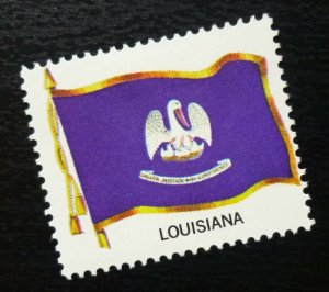 USA Posterv Stamp Flag LOUISIANA  C6