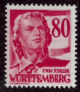 Wurttemberg French Zone SC 8N36  Mint VF....Specialty Bargain!!