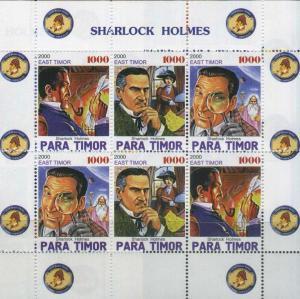TIMOR SHEET SHERLOCK HOLMES