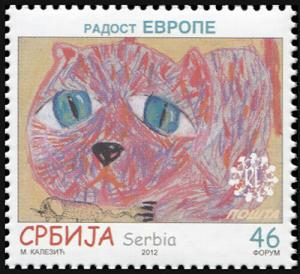 Serbia. 2012. Joy of Europe (MNH OG) Stamp