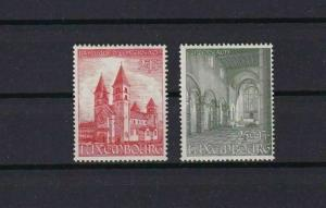 LUXEMBOURG 1953 ECHTERNACH ABBEY MNH STAMPS  CAT £15  REF 4888