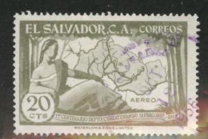 El Salvador Scott C175 used  airmail
