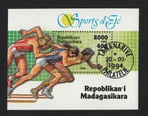 Sport Run Women 1994 = Souvenir Sheet, Madagascar