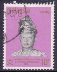 Malaya Pahang Scott 97, 1975 Sultan 10c used