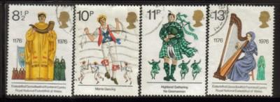 Great Britain Sc 790-3 1976 Cultural Tradition stamps used