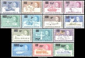 British Antarctic Territory Scott 25-38 Mint never hinged.