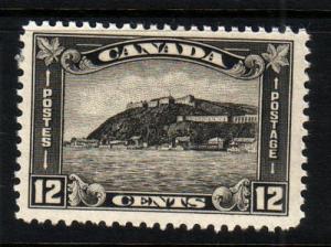 Canada Sc 174 1930 12c Quebec stamp mint