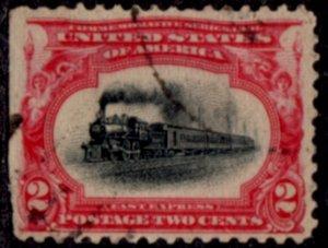 US Scott #295 - Pan-American Exposition 1901 Perf 12 w/ #191 Water Mark CV~$1