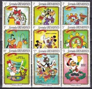 Grenada Grenadines #560-8  MNH CV $12.75 (Z7865)