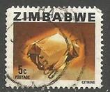 ZIMBABWE 417 VFU MINERALS X076-2