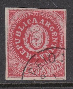 ARGENTINA  An old forgery of a classic stamp ...............................D783
