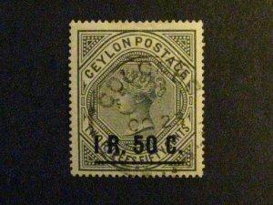 Ceylon #160 used  c203 101