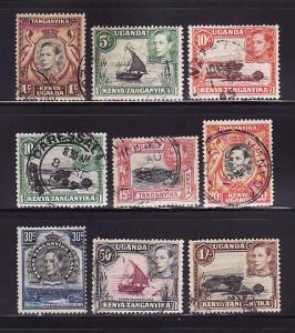 Kenya, Uganda, Tanzania 66a, 67, 69-70, 72 74, 76, 79-80 (A)