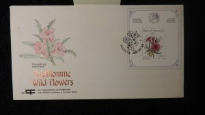Bophuthatswana South Africa 1987 wild flowers good used stamp-exhibitions