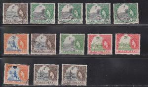 BASUTOLAND Group Of QEII Used Stamps - Some Duplication