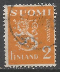 FINLAND 173B VFU T498
