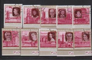 FUJEIRA SET OF STAMPS MNH  LOT#474