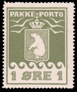 Greenland #Q1a MNH CV$2200 Position 22 (Facit P1) Polar Bear