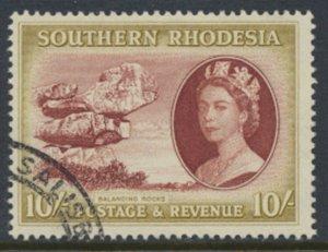 Southern Rhodesia  SG 90  SC# 93  Balancing Rocks Used / FU    see scans
