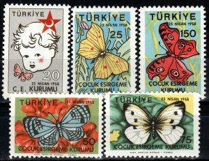 Turkey #RA224-8 MNH CV $7.50  (X1356)