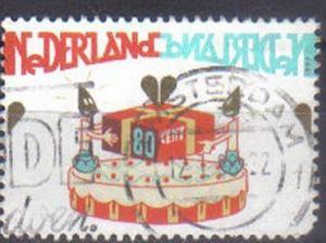 NETHERLANDS, 1998 used 80c, Child Welfare. Celebrations