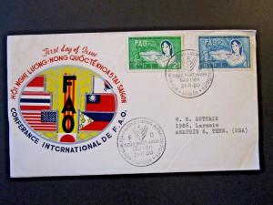 Vietnam 1960 FAO Series FDC  - Z5168