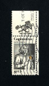 USA #1488 used 1973 PD .08