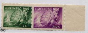 SLOVENIA  108-09   MNH