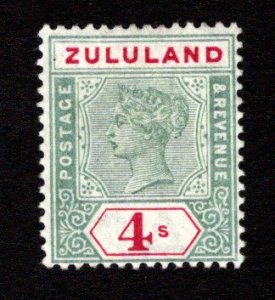 ZULULAND  SC# 22  F/MOG