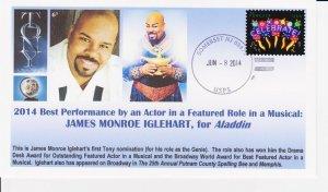 6° Cachets 2014 Tony Award Winner James Monroe Iglehart for Aladdin