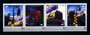 [93139] Young Isl. Gren. St. Vincent 2011 Railway Train Eisenbahn  MNH