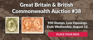 The 38th Great Britain & Commonwealth Auction