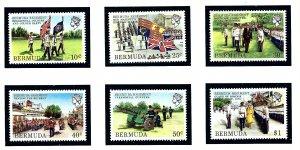 Bermuda 423-28 MNH 1982 Bermuda Regiment  (KA)