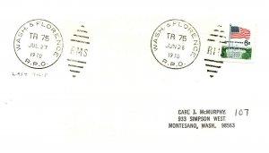 1970 Wash. & Florence R.P.O.Railroad + Last Trip  #110