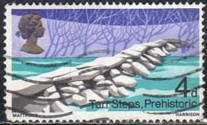 Great Britain 560 - Used - Prehistoric Tarr Steps (Exmoor)