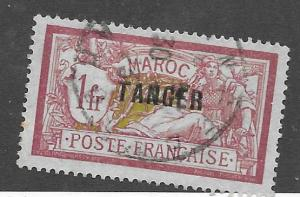 FRENCH MOROCCO #87 USED