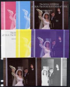 Tuvalu - Nanumea 1986 Royal Wedding (Andrew & Fergie)...