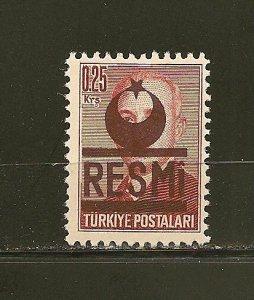 Turkey O17 Official MNH
